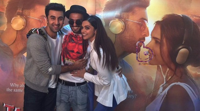 Deepika Padukone not happy on comparisons between Ranveer & Ranbir!