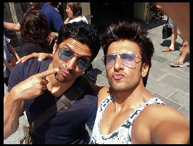 Best Selfies of 2015 | Bollywood Celebs teach us how it's done!- Farhan- Ranveer