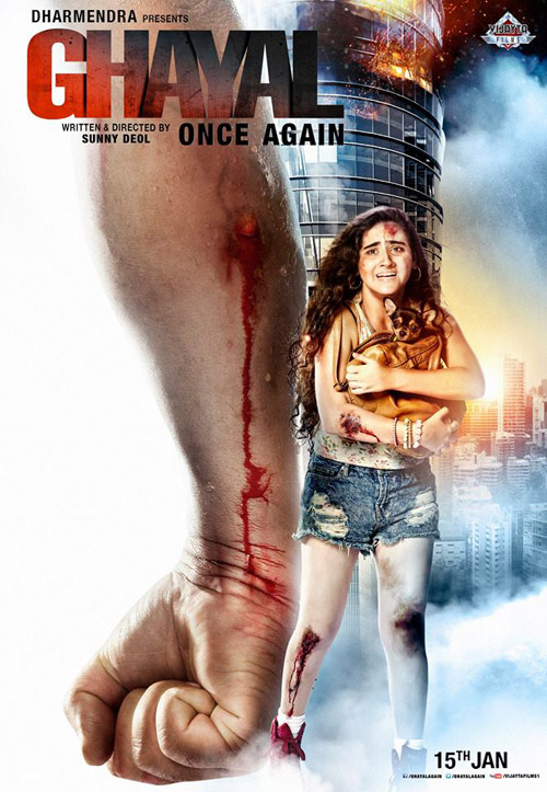 Ghayal Once Again Trailer will be attached with Bajirao Mastani and Dilwale