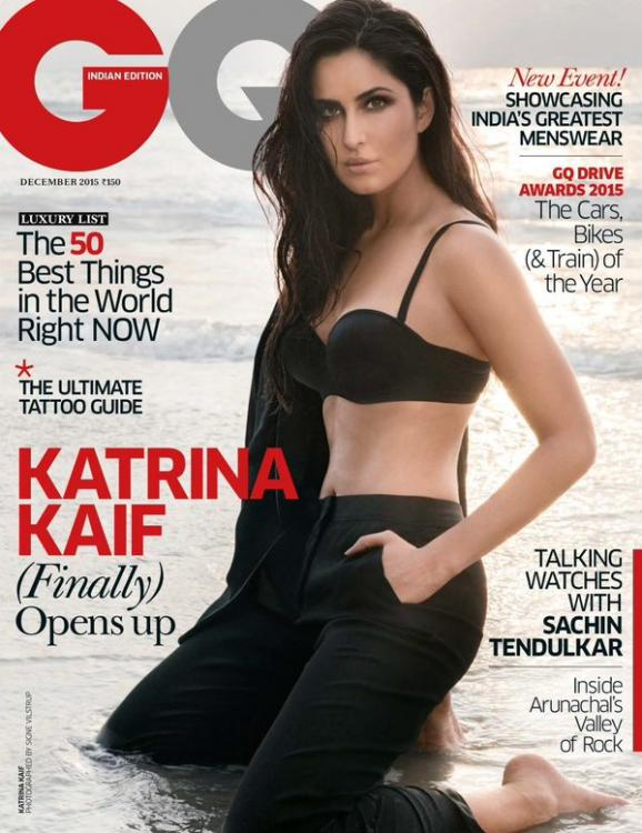 Katrina Kaif steams up the cover of GQ