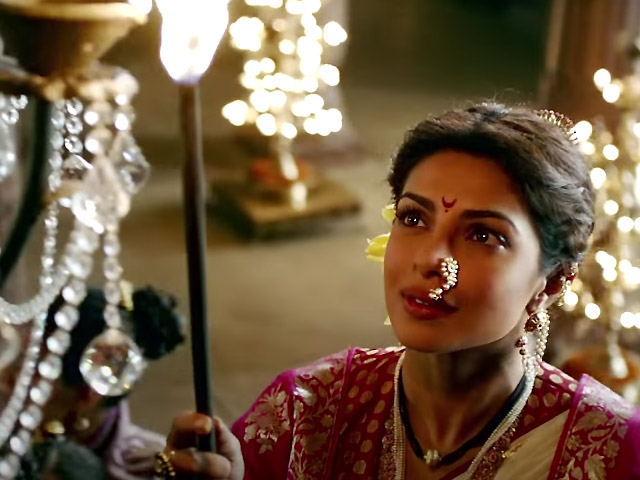 Priyanka Chopra as Kashibai in Bajirao Mastani
