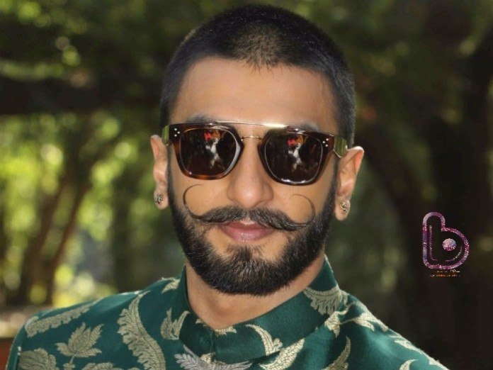 Ranveer Singh is finally mustache-free thanks to Deepika Padukone!