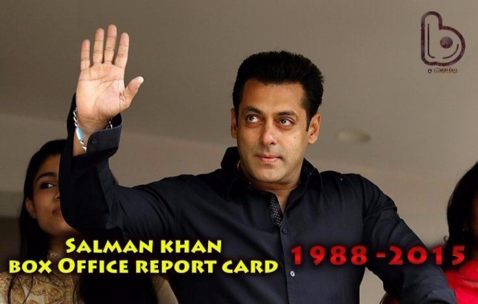 Salman Khan Box Office Collection Report Card | Verdict of All Movies Till Date