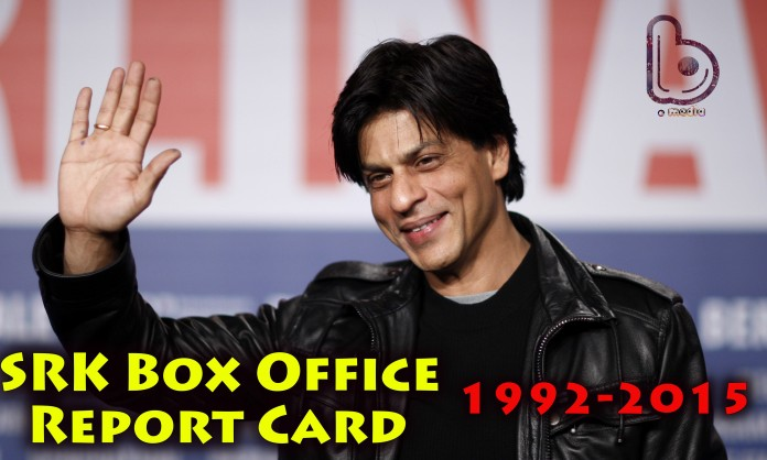 Shahrukh Khan Box Office Report Card | List Of Hit, Flop & Blockbuster Movies Of Shahrukh Khan