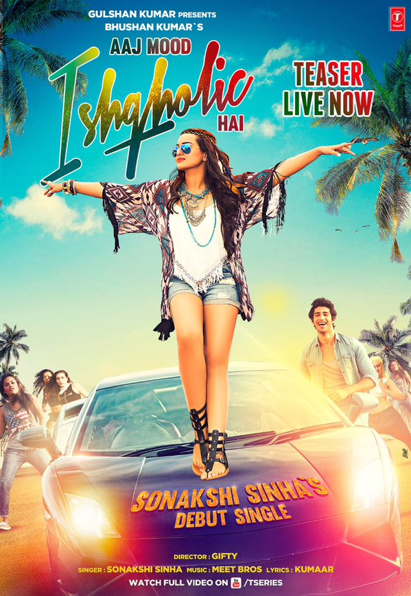 Teaser of Sonakshi Sinha's singing debut 'Ishqoholic' is out!