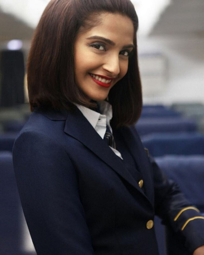 The logo of Neerja is out, trailer will be out on Thursday!