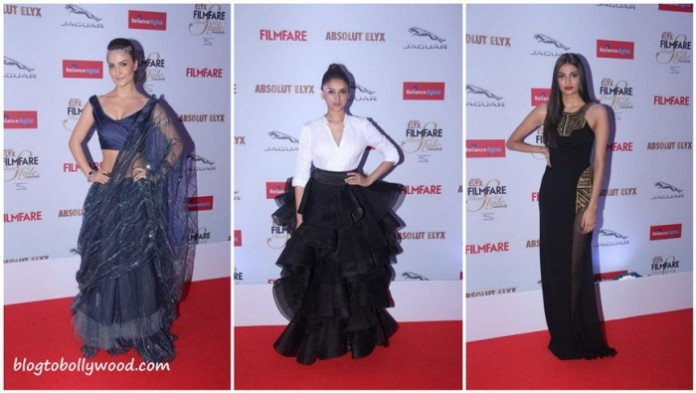 Stars at Filmfare Glamour & Style Awards 2015