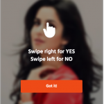 HOT or NOT   Bollywood Swipe Game - Swipe your favourite Star and Make them Win