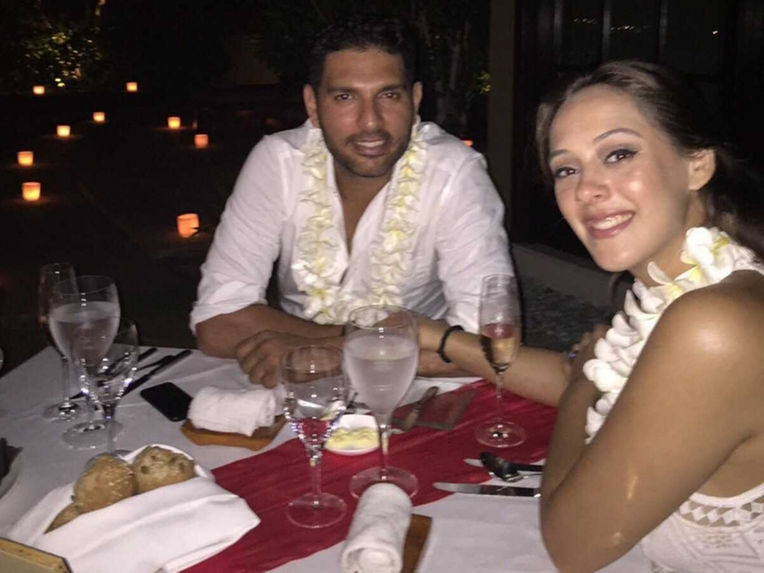 The most surprising link ups in 2015 - Yuvraj and Hazel