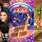 First Day Collection comparison of Dilwale with Happy New Year And Chennai Express