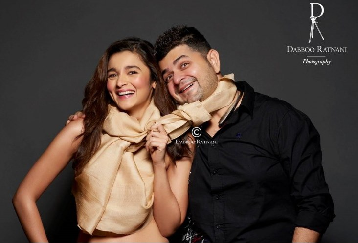 Exclusive Pictures from Dabboo Ratnani's 2016 Calendar Inside: Alia Bhatt With Dabboo Ratnani