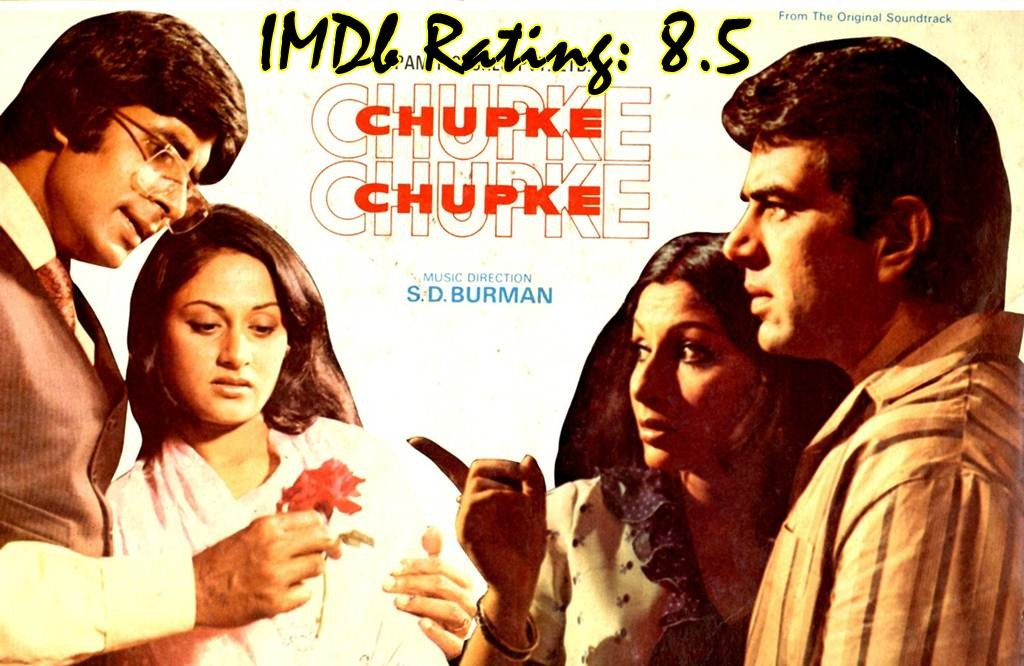 Top 10 IMDb Rated Movie of Amitabh Bachchan