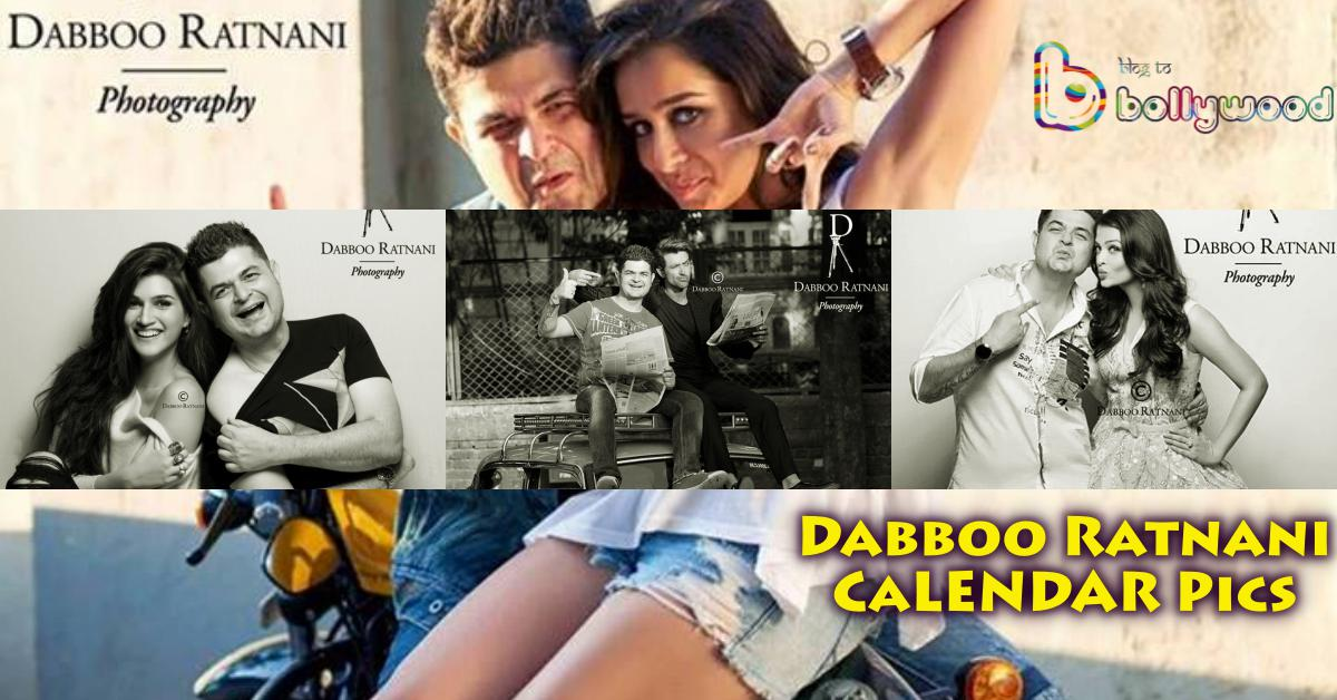 Exclusive Pictures from Dabboo Ratnani's 2016 Calendar Inside: Photostory