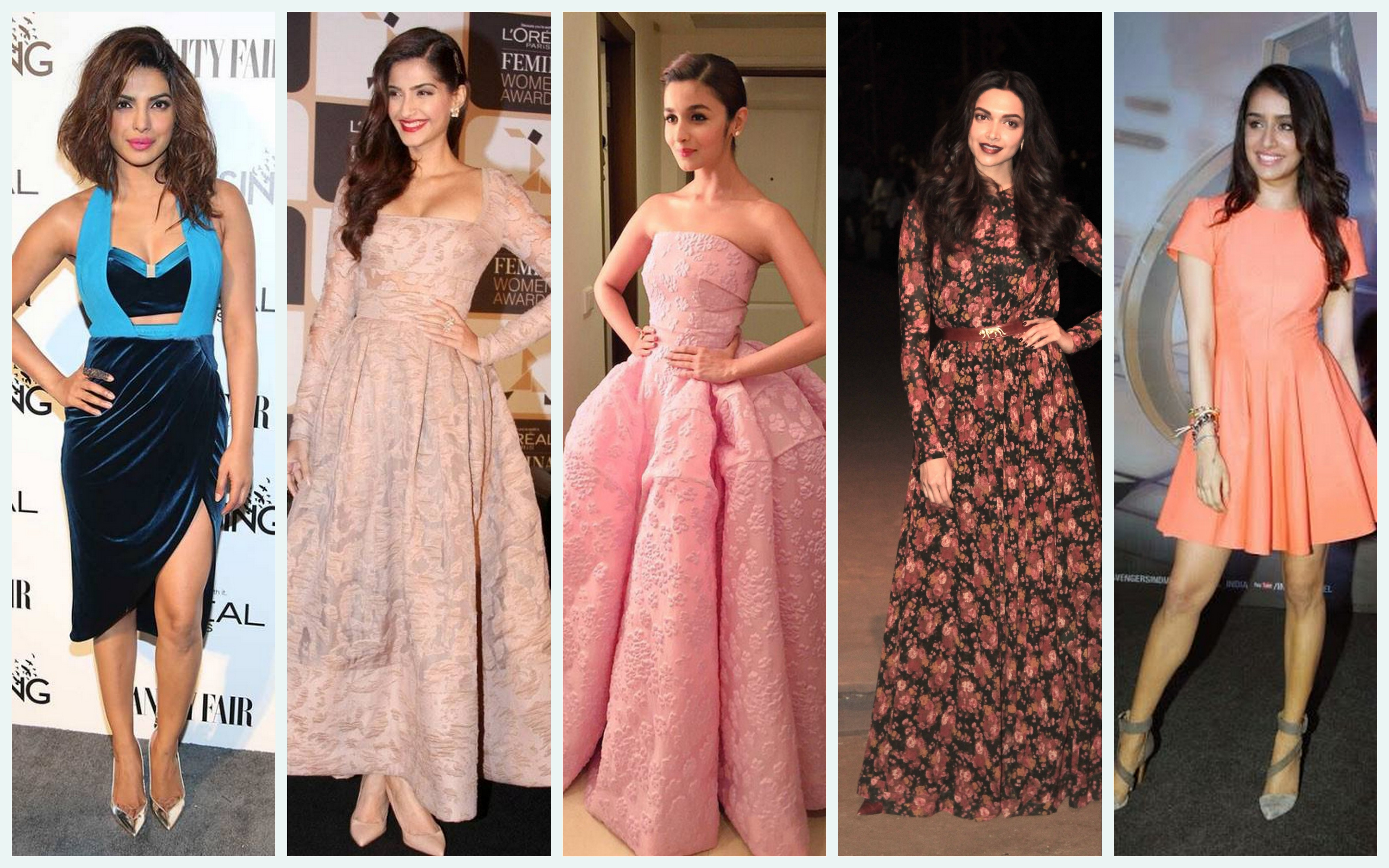 Bollywood 2015: Top 5 Best Dressed Bollywood Celebs of 2015 Female