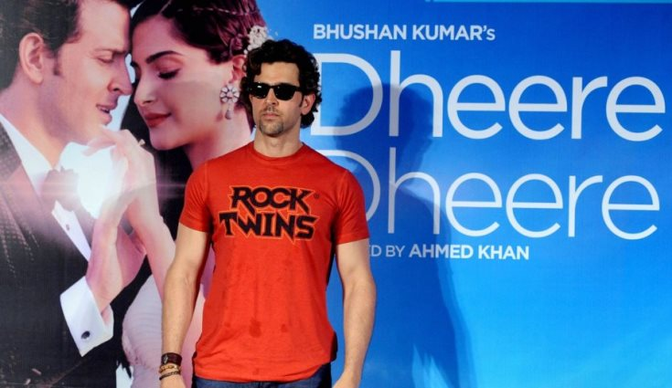 After Dheere Dheere Se, Hrithik Roshan to do one more single for T-Series