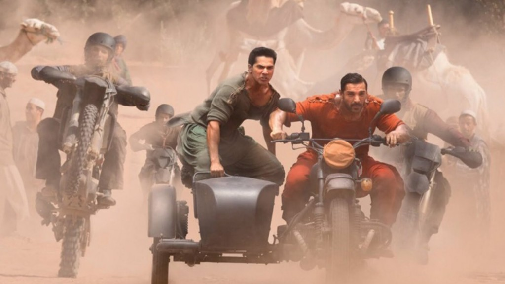 Dishoom Motion Poster 2016