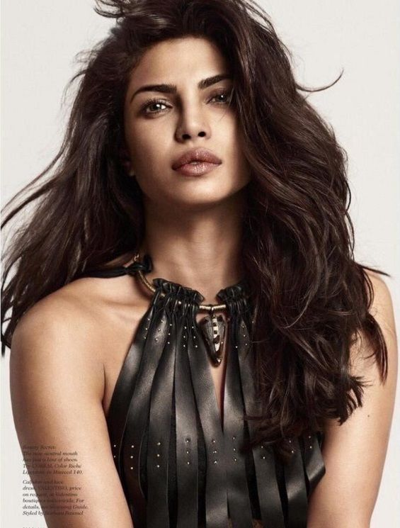 Elle US Magazine Cover February 2016: Priyanka Chopra will not let your eyes roll over
