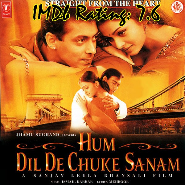 10 Best Movies Of Ajay Devgn- Hum Dil De Chuke Sanam