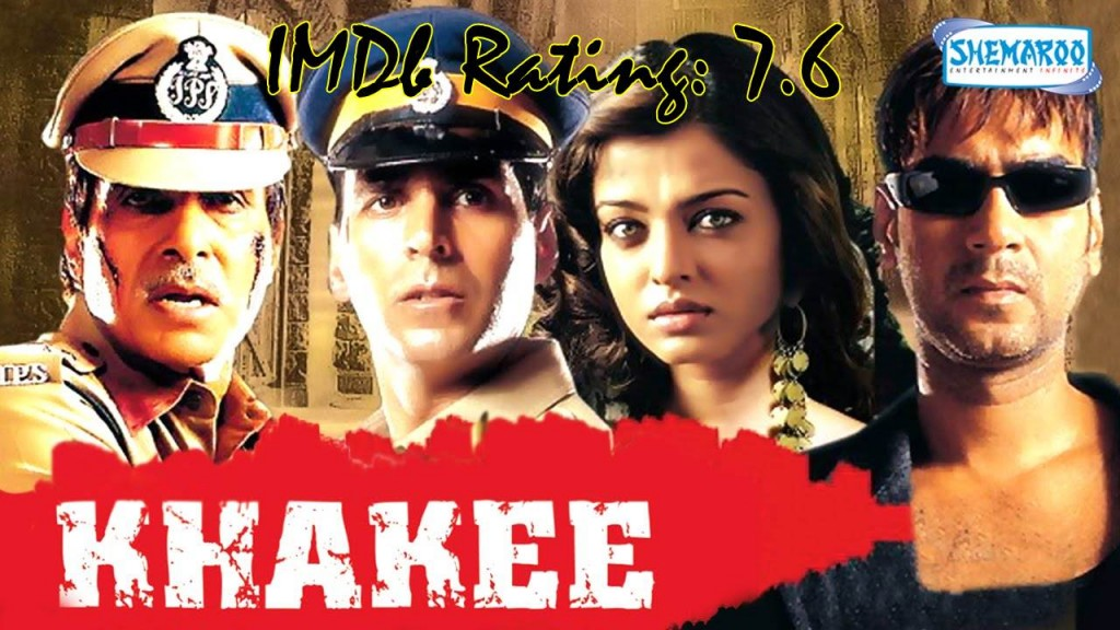 Top 10 IMDb Rated Movies of Ajay Devgn- Khakee