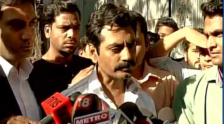 Nawazuddin Siddiqui charged for physically assaulting a woman!