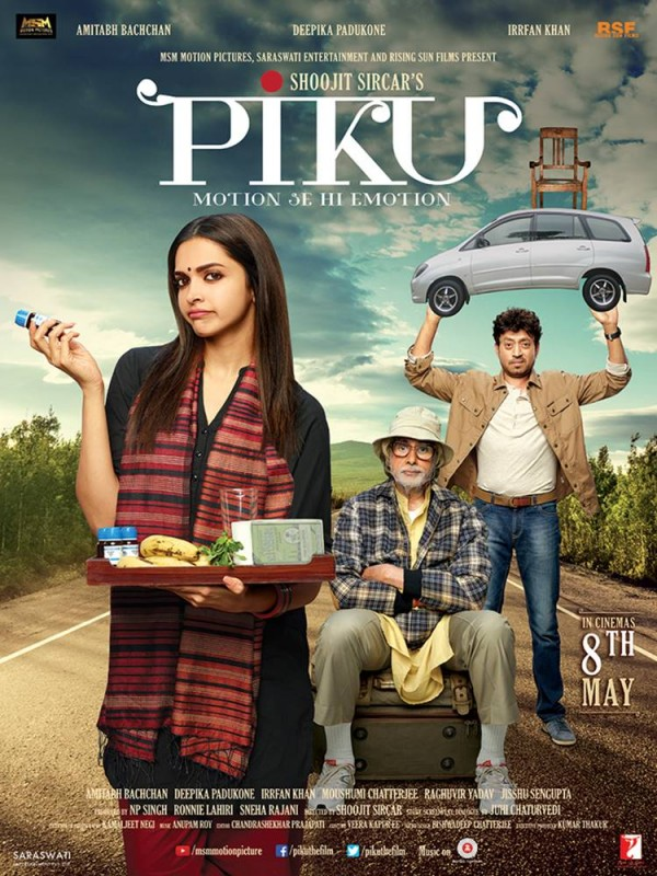 Piku starring Deepika and Amitabh