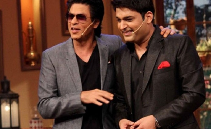 Shahrukh Khan to host 61st Britannia Filmfare Awards 2016 with Kapil Sharma.