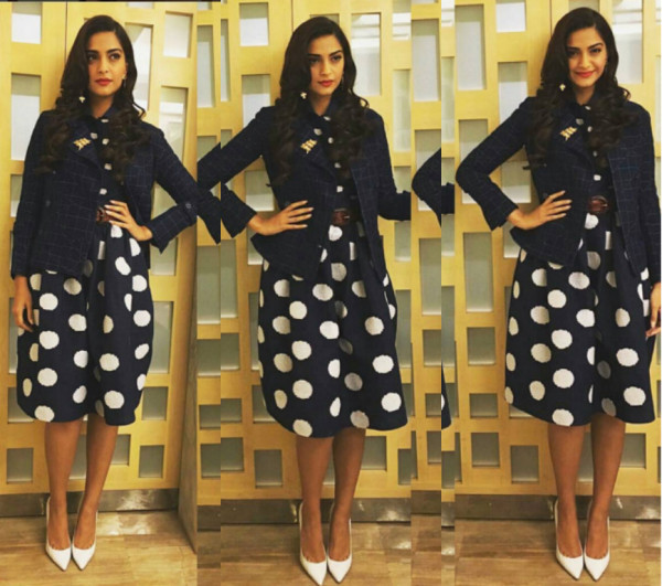 "Sonam Kapoor's ""Print on Print"" Outfit is the Talk of the Town"