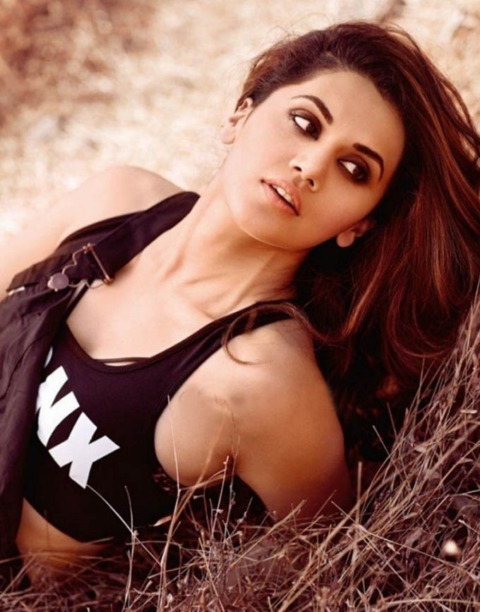 Taapsee on the cover of Maxim India Magazine - 4