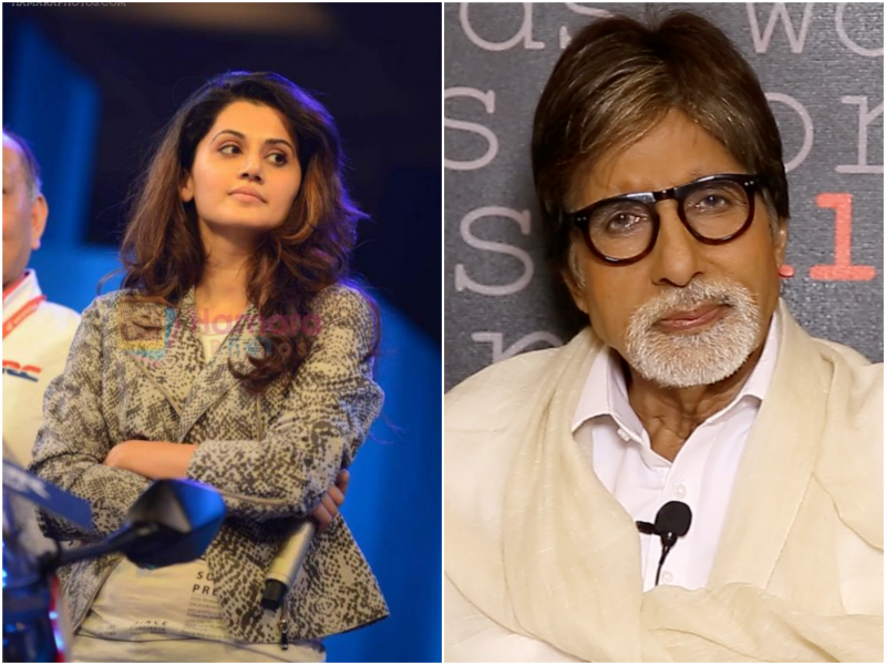 Taapsee Pannu is excited about teaming up with Amitabh Bachchan