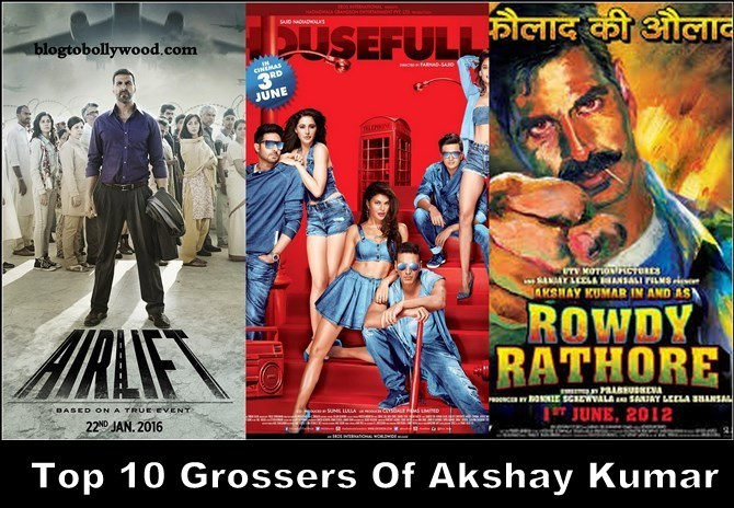 Top 10 Highest Grossing Movies Of Akshay Kumar – Biggest Hits