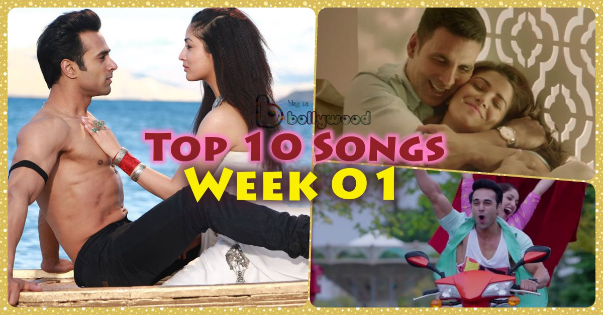 Top 10 Songs of the Week – Bollywood Week 01 [4th Jan 2016]