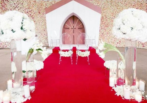 Asin's wedding venue