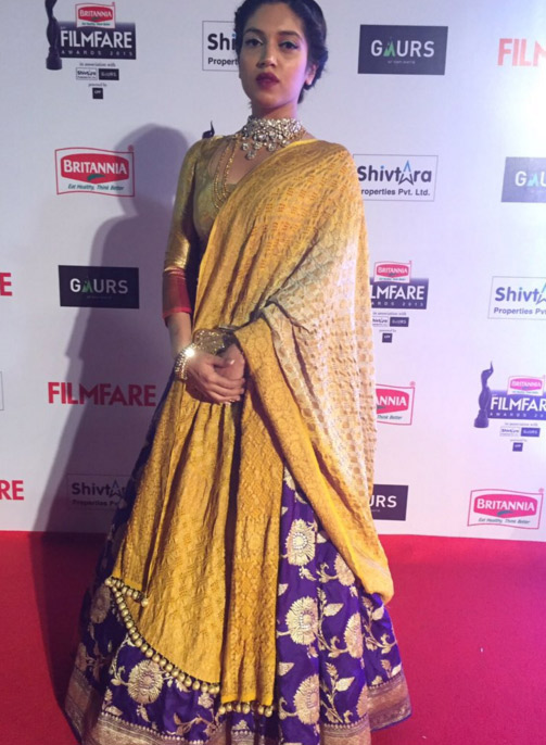 Bhumi Pednekar at 61st Filmfare Awards: Bollywood's Fashion Fails on the Red Carpet