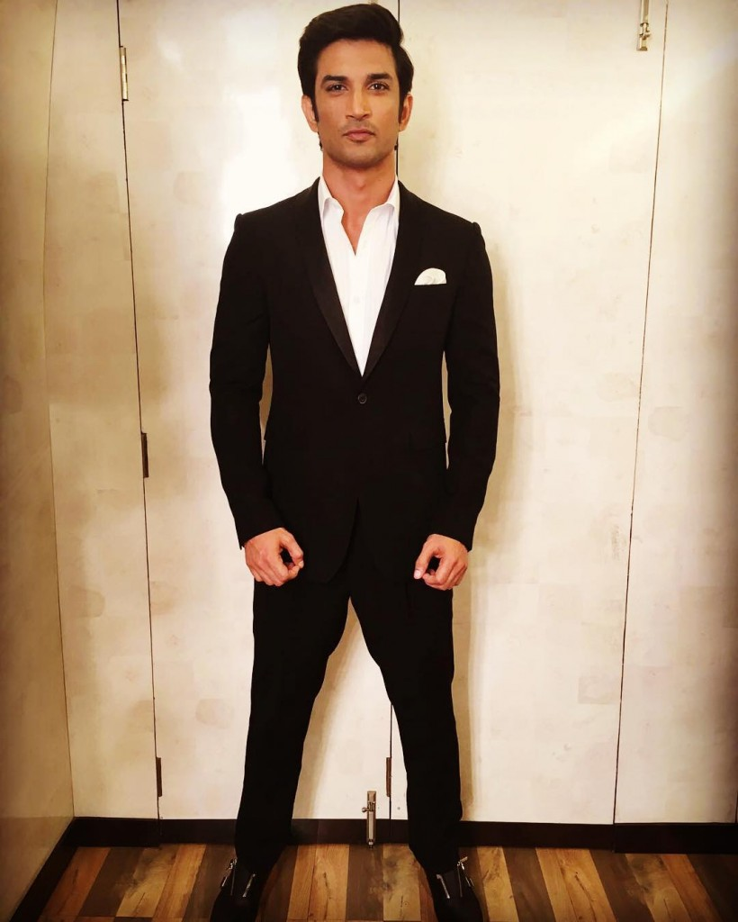 Sushant Singh Rajput at the Zee Cine Awards