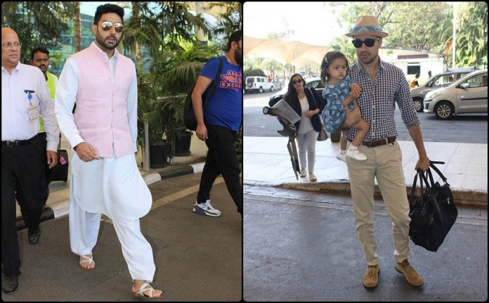 Airport Spotting | Get that Hunk Look like your favourite star for your next journey!- Hunk Look