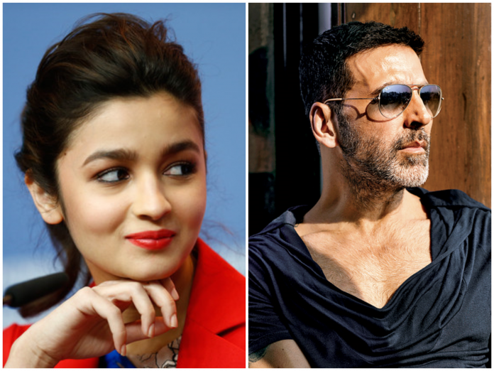 Watch Video: Akshay Kumar To Romance Alia Bhatt in Sriram Raghvan's next flick