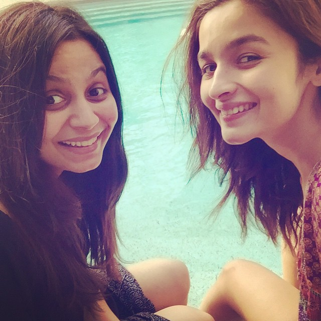 And then Alia's Friendfie :)