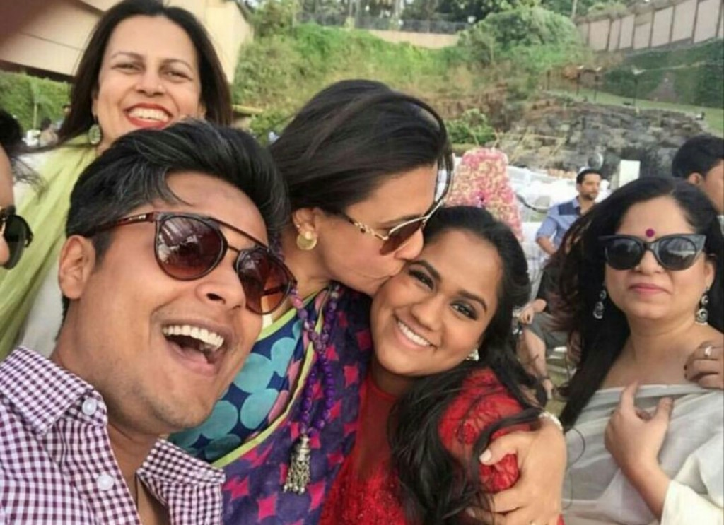 Arpita Baby shower Selfie
