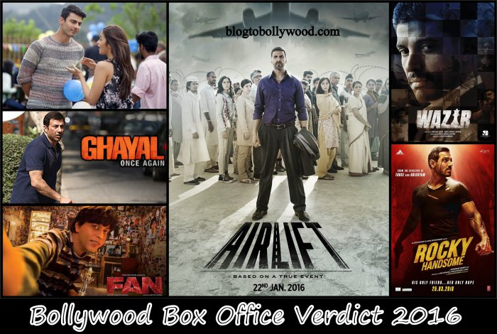 Bollywood box office collection report 2016 verdict of bollywood movies 2016 - Bollywood box office collection this week ...
