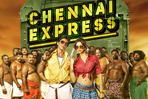 Highest Grossing Movies Of Shahrukh Khan - Chennai Express at No.1