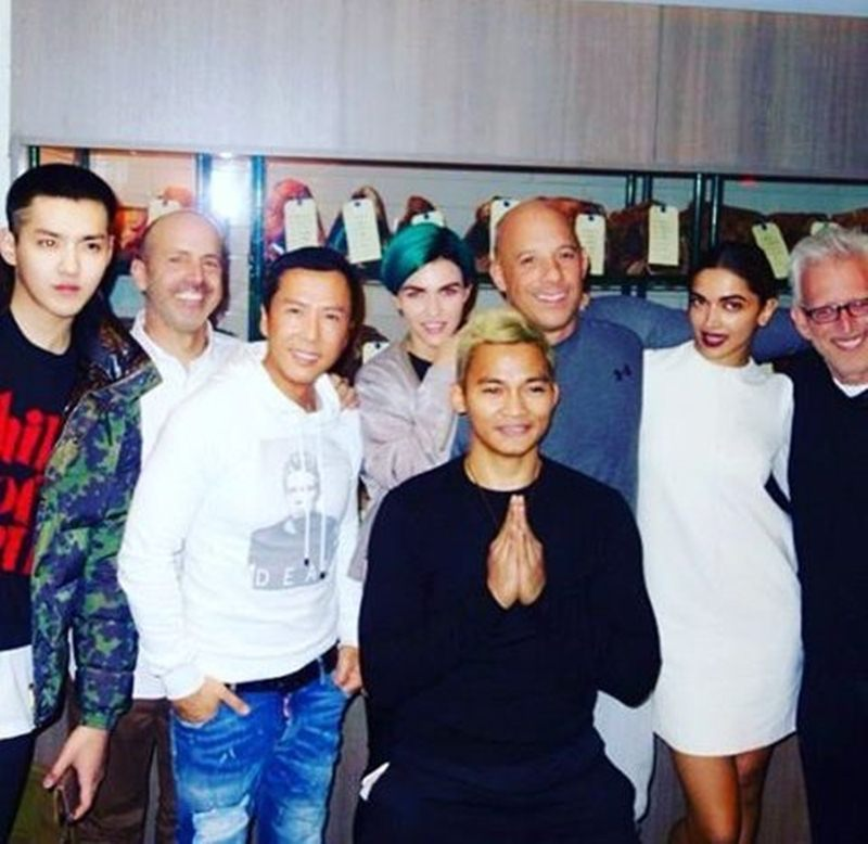 Deepika Padukone and the cast of XXX share a family bond! |Pictures Inside- Deepika 4