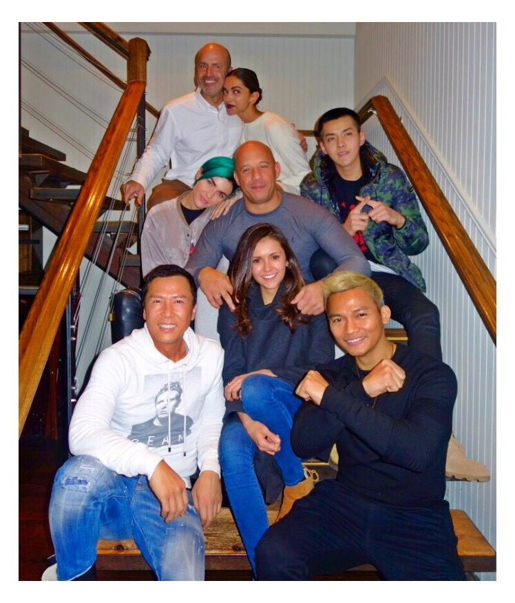 Deepika Padukone and the cast of XXX share a family bond! | Pictures Inside