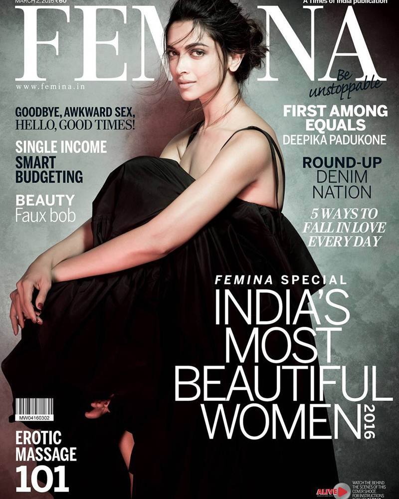 Deepika Padukone takes our breath away in Femina India's Special Issue!