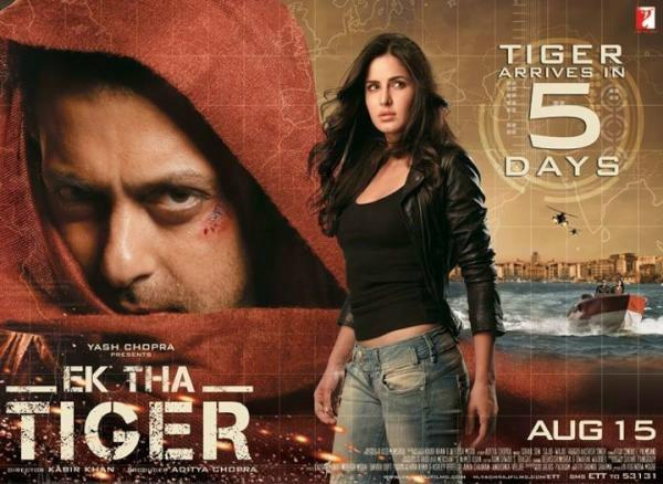 Ek Tha Tiger Movie Poster
