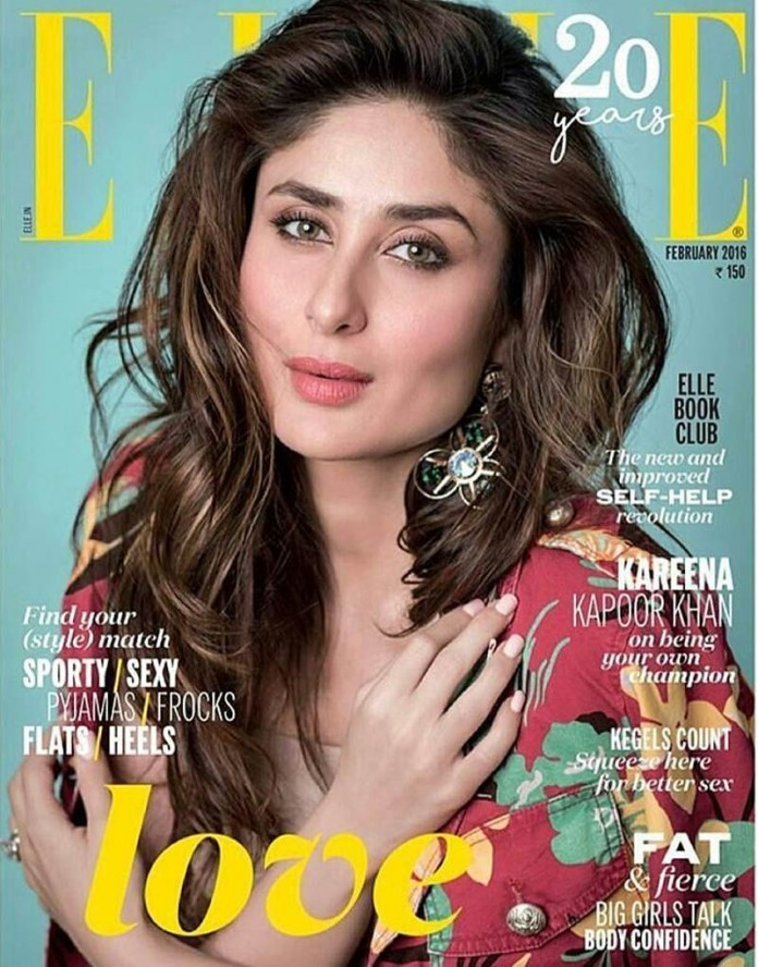 Kareena Kapoor Khan looks so fresh in Elle India February Issue Cover- Kareena