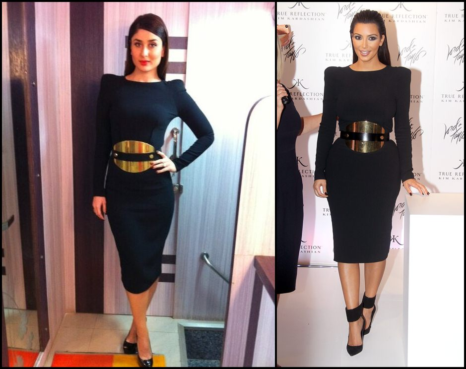 Bollywood Vs Hollywood- Who pulled off these dresses better?-Kareena-Kim