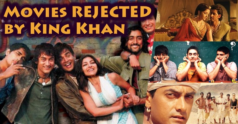 10 Movies Shahrukh Khan Rejected That Become Blockbusters