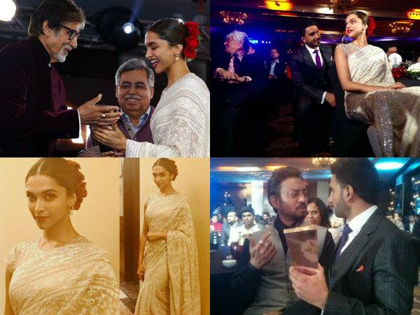 Deepika Padukone Wins 'NDTV Actor Of The Year' and Ranveer Can't Stop Himself From Singing