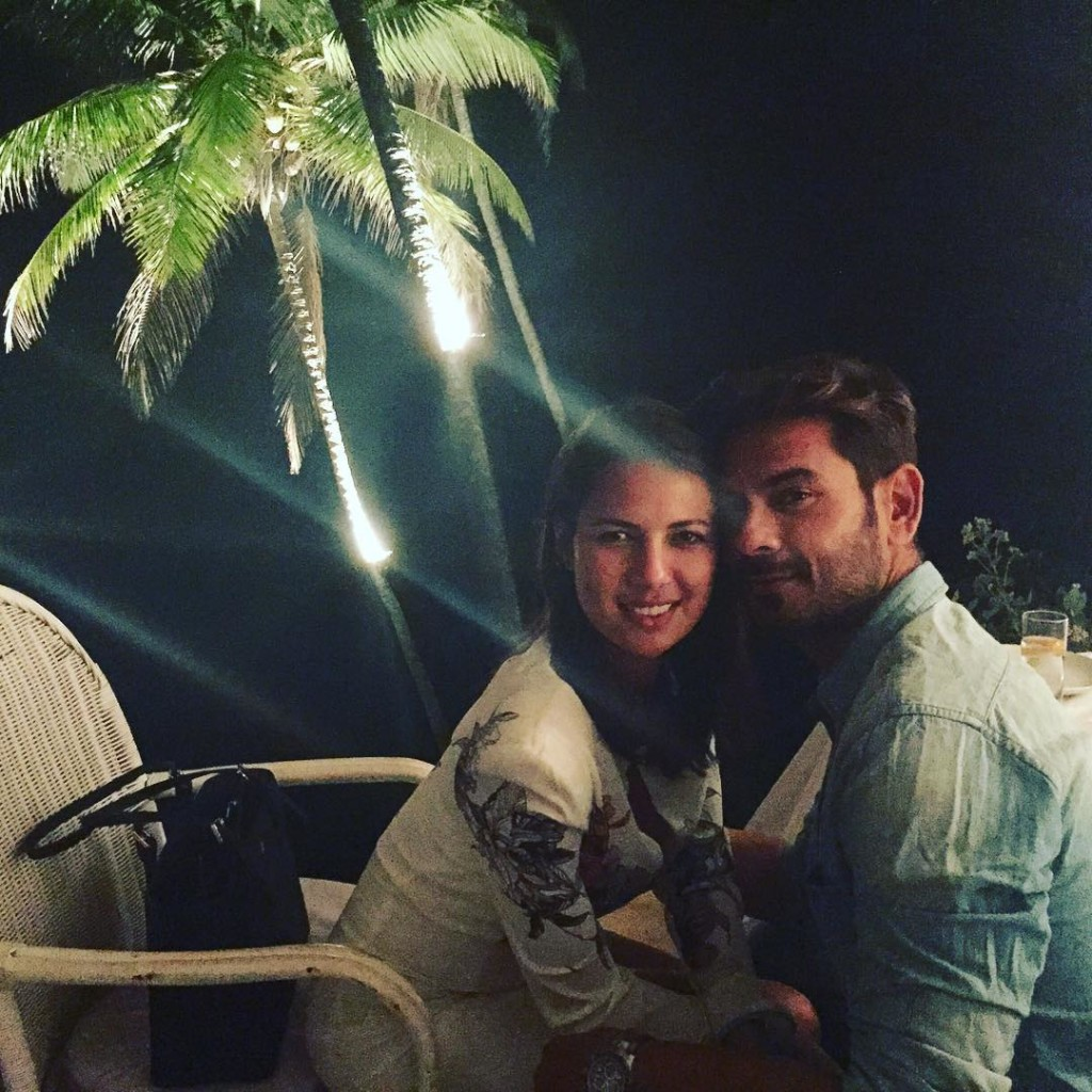 Rochelle and Keith at Goa