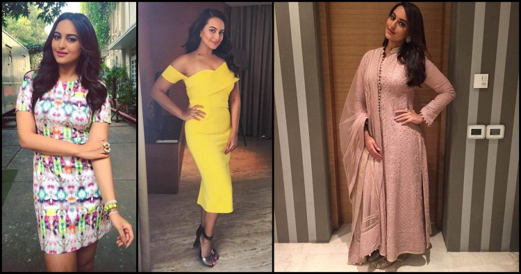 6 Sonakshi Sinha Approved Dresses that should be the part of your wardrobe